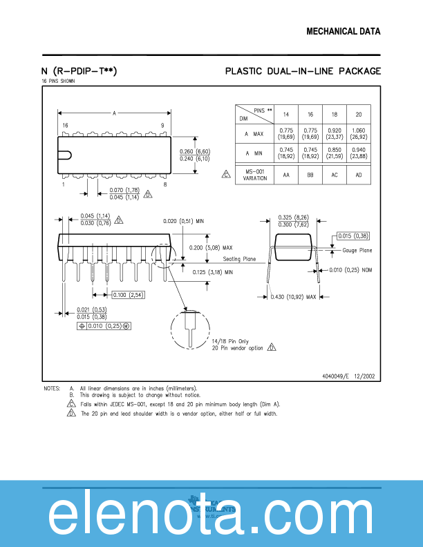 Datasheet download sn74ls04n epub